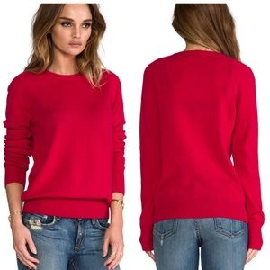 Equipment Sloane Cashmere Crewneck Sweater red XS
